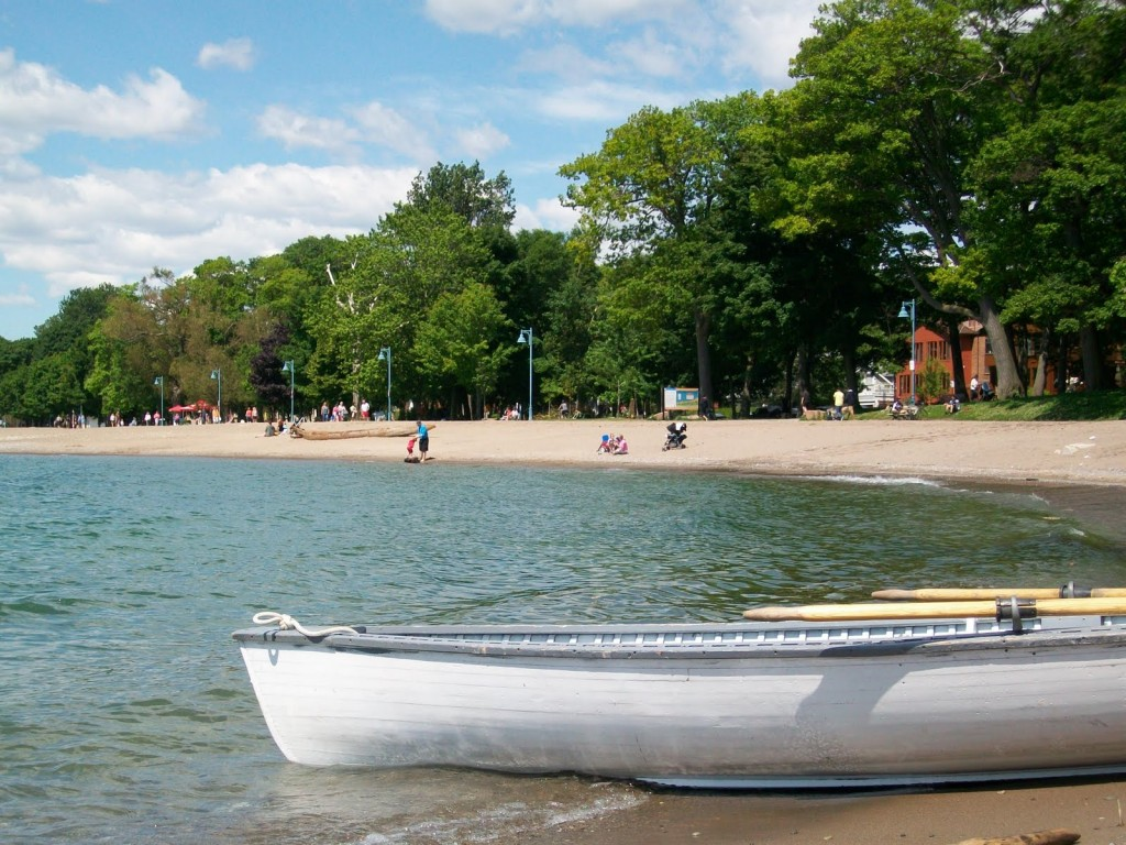 The beach(es) in east Toronto.