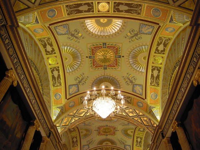Canon Theatre ceiling.