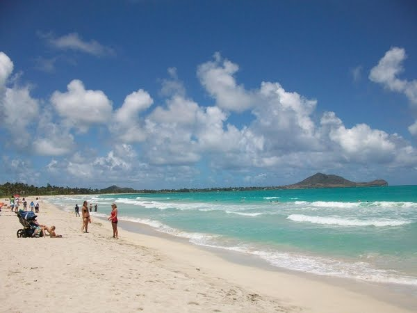Kailua Beach on the Windward Coast.