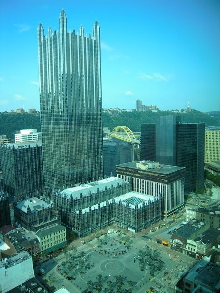 The Pittsburgh Plate Glass Building.