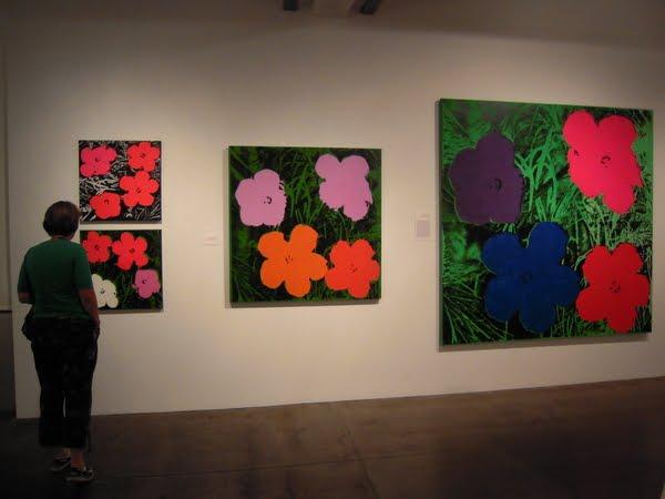Warhol Flowers.