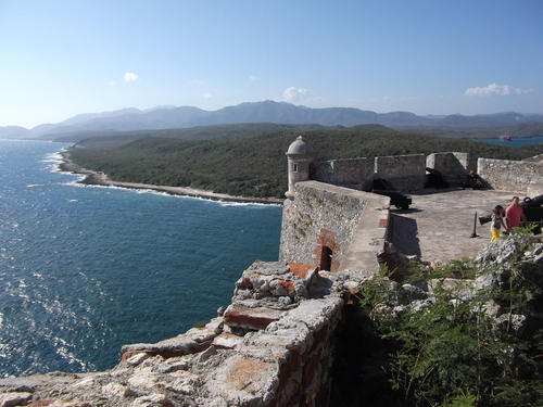 View from El Morro.