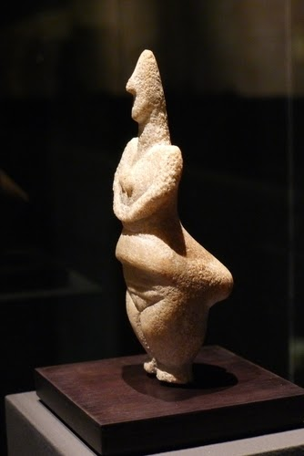 A rare 7,000 year-old Greek Idol.