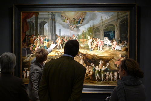 TEFAF is the place to learn about art and global art market.
