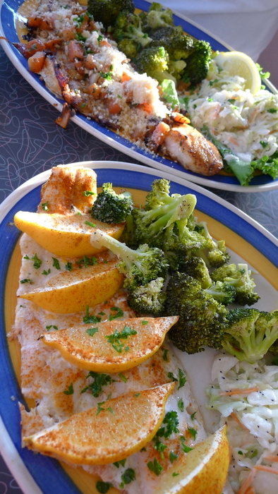 Fresh haddock four ways.