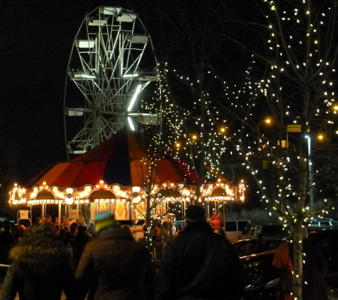 The Toronto Xmas Market takes place at the Distillery District