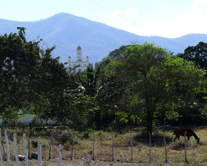 On the way to El Cobre, 20 km northwest of Santiago de Cuba.