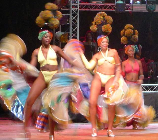 Santiago de Cuba is Cuba's most Afro-Caribbean city.