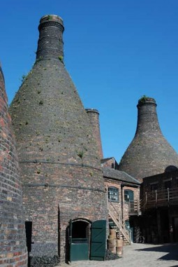 The Staffordshire Potteries, England