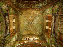 The exquisite 6th century mosaics of San Vitale, Ravenna