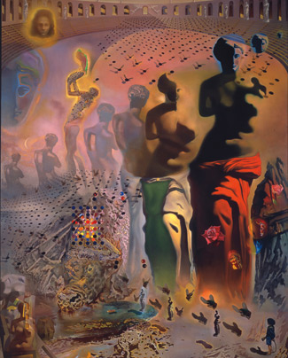 The Hallucinogenic Toreador (1969-70) painting by Salvador Dali