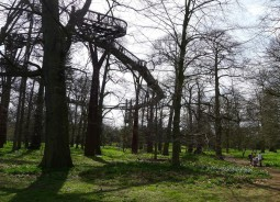 A stroll in the treetops, Kew Gardens, London