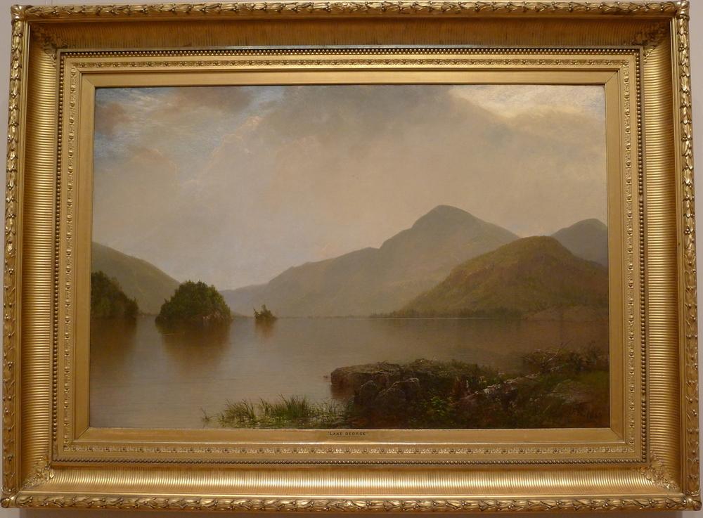 LakeGeorge, painting 1869 by John Frederick Kensett1000