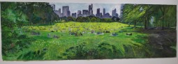 Monday in Central Park with painter Janet Ruttenberg