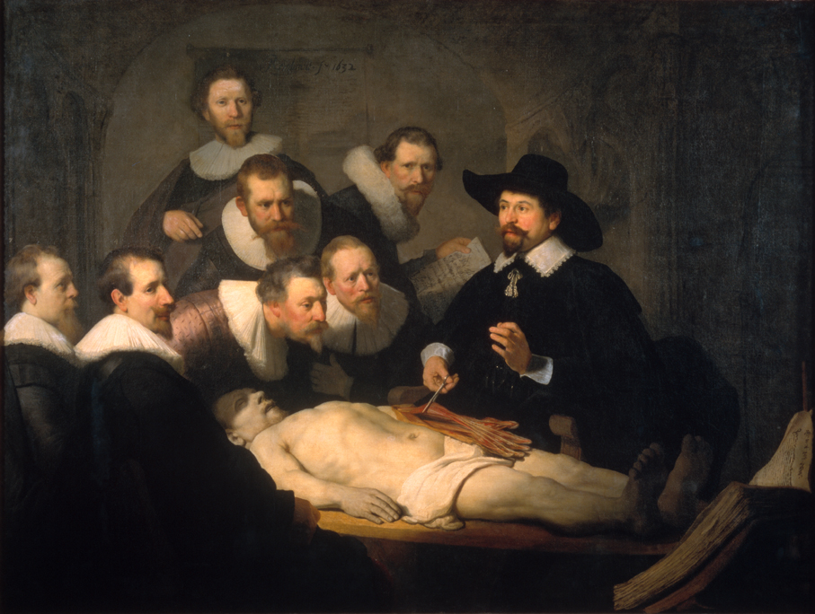 Anatomy Lesson Dr Tulp Rembrandt