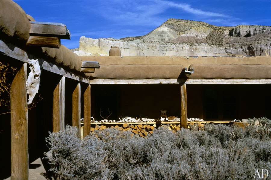 Courtyard at Abiquiu