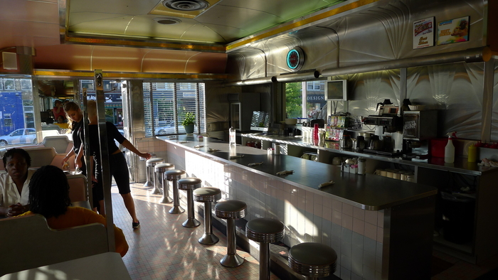 Lake Effect Diner interior