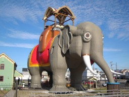 Lucy the Elephant, America's oldest roadside attraction