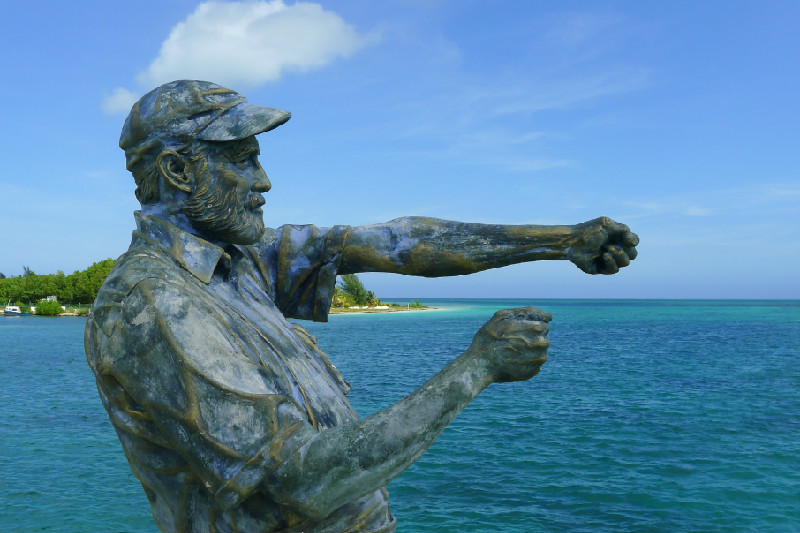 Ernest Hemingway Statue