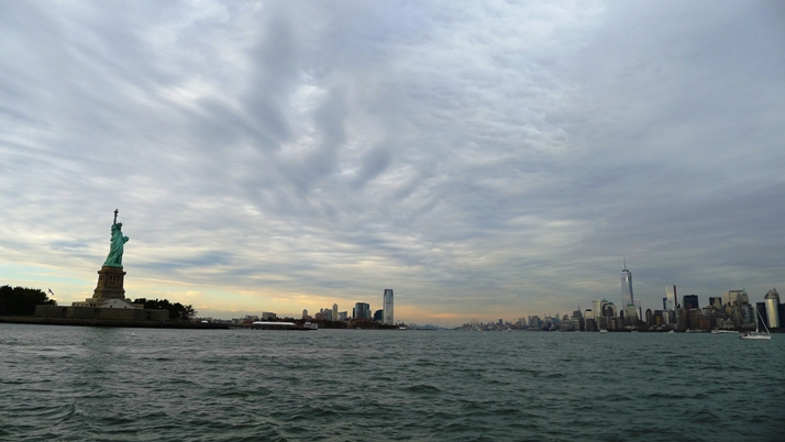 NYC Harbor Panorama