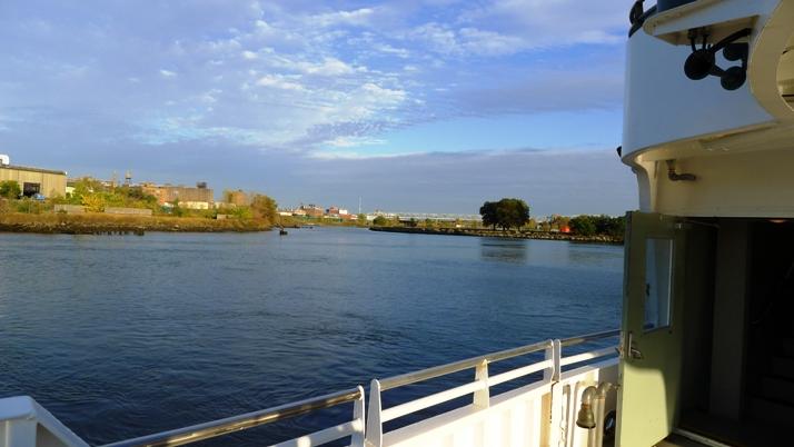 Harlem River boat trip