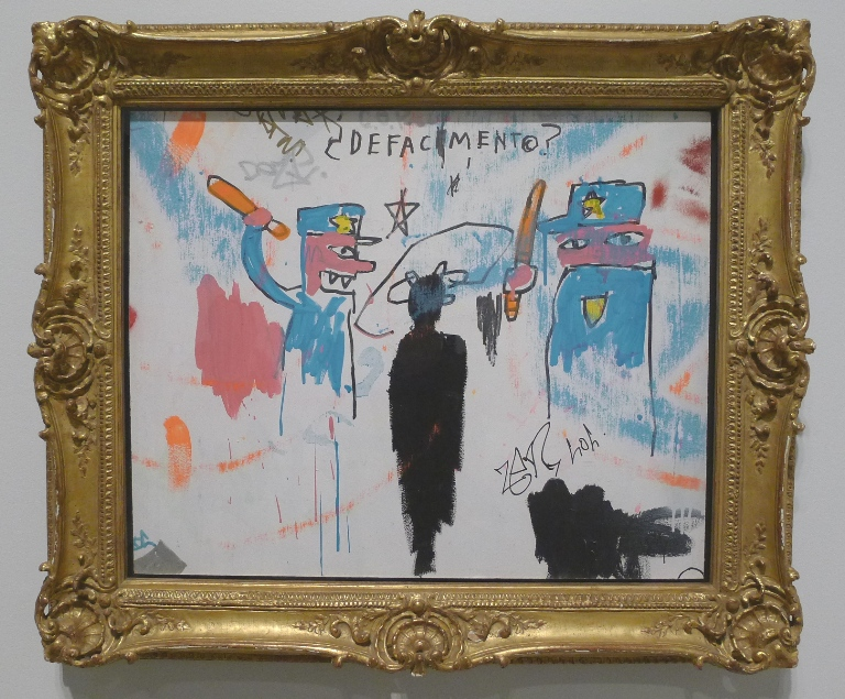The Death Of Michael Stewart by Basquiat