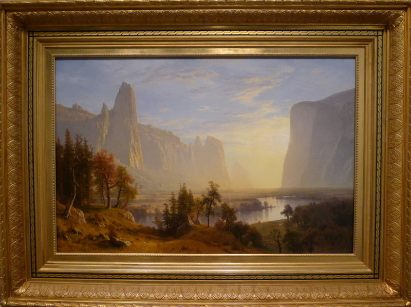 Bierstadt Yosemite Valley painting