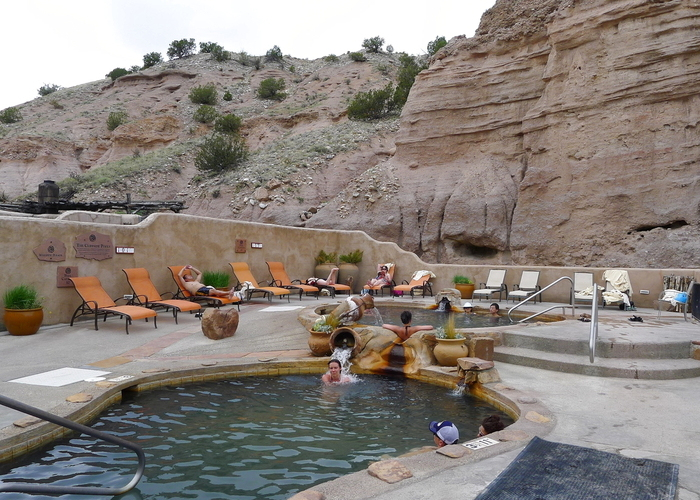 Arsenic Pool, Ojo Caliente