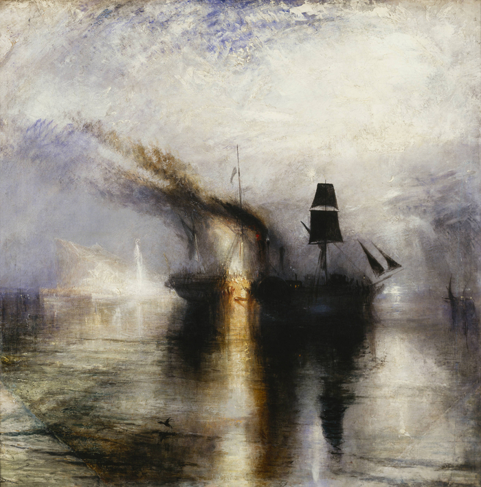 Burial at Sea, Turner, AGO