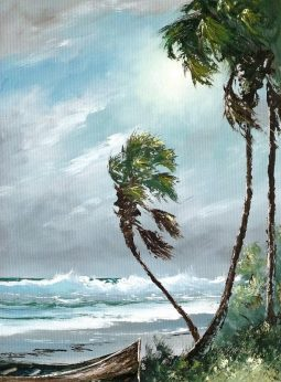 On Hurricane Irma, and art of the Florida Highwaymen